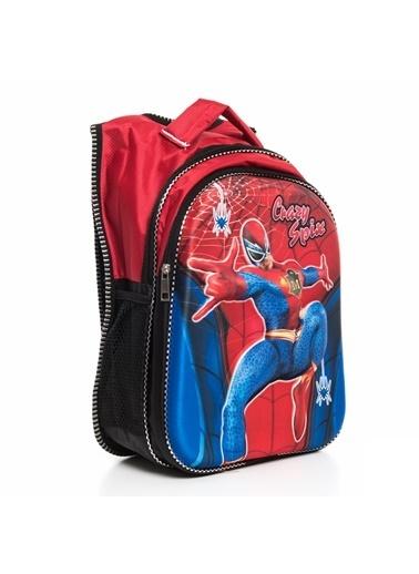 Bebebebek Spiderman Okul Çantası  Renkli